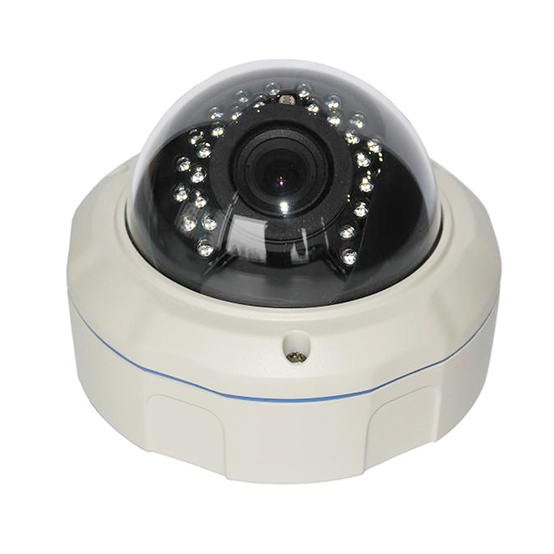 5MP Vandal Proof Half Dome Network Security Camera IP Cam for Indoor