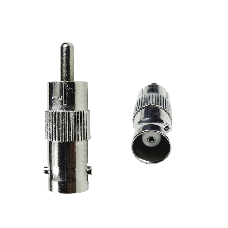 RCA Male to BNC Female Jack Adapter Connector for cctv wiring installation