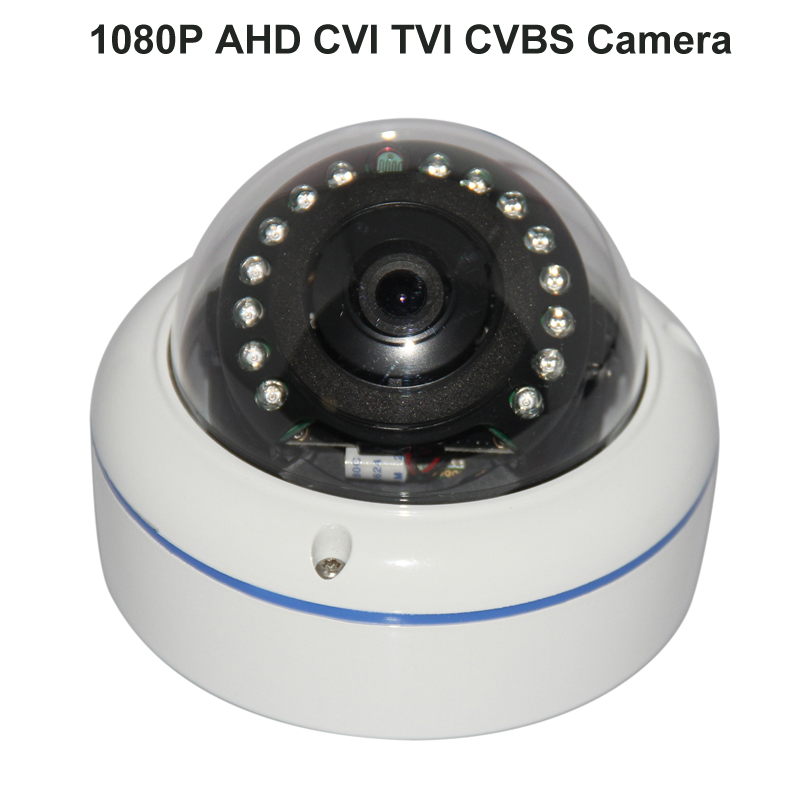 Mini 1080P Cameras AHD CVI TVI Vandal Proof IR Surveillance & Protection