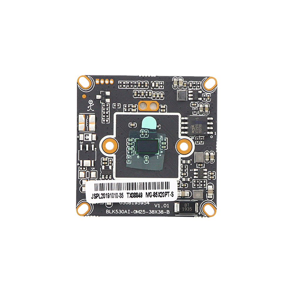 2.0M Black light Illumination H.265 IP Camera Module